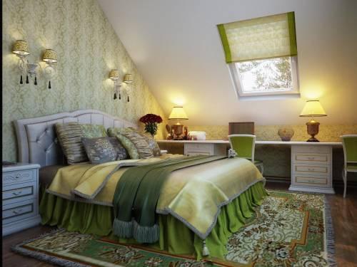 Спальня с аркой дизайн