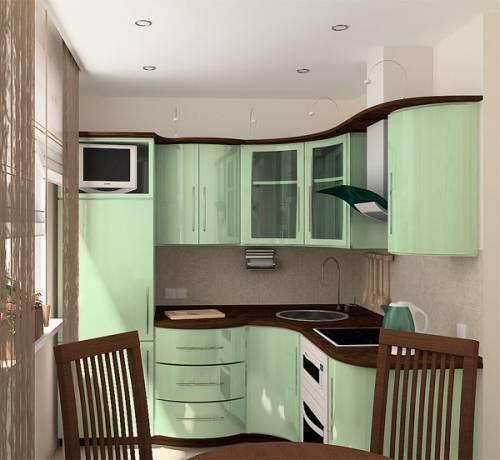 Кухни 6 м2 дизайн фото