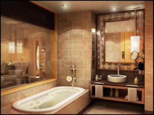 дизайн ванной комнаты фото мозаика