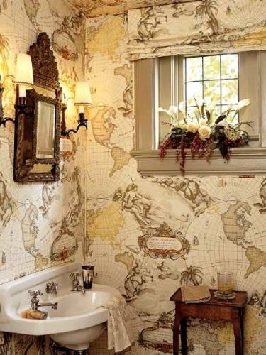Ванная комната дизайн фото мозаика
