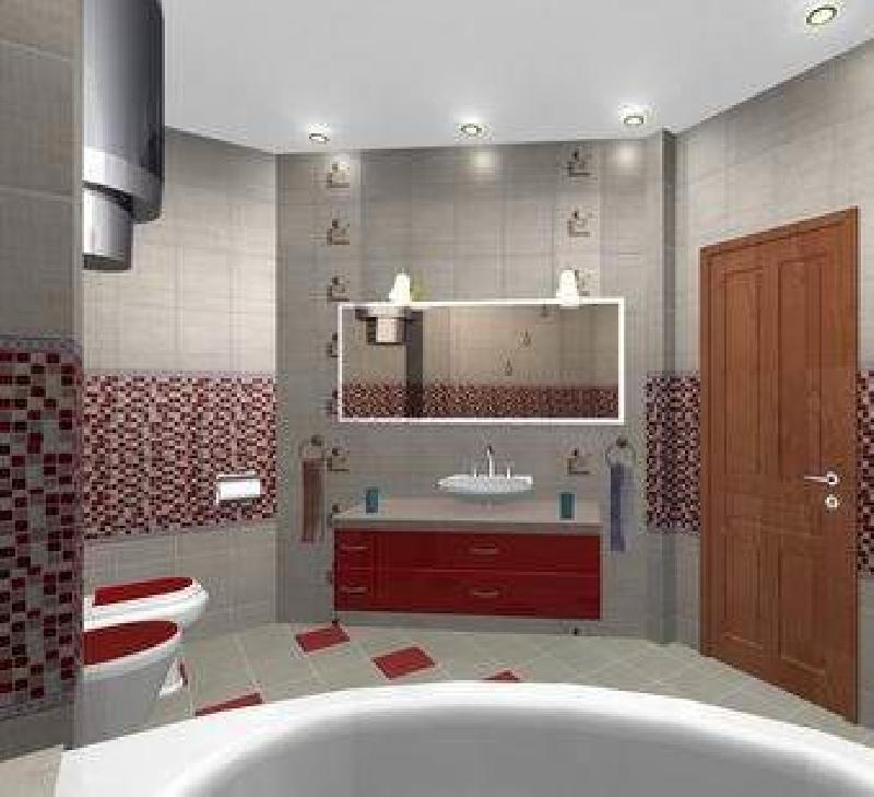 Если ваша ванная комната не очень широкая и при этом не очень длинная